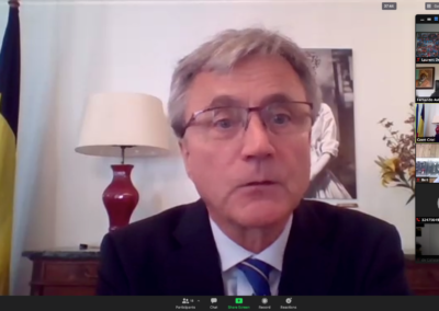 1/12/2020 Webinar with Mr. Geert CRIEL, Ambassador of Belgium in Chile. Topic: Towards a Chile 2.0 after the constitutional reform.